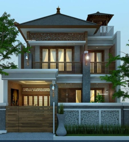 rumah-joglo-modern-minimalis - lem kayu crossbond™