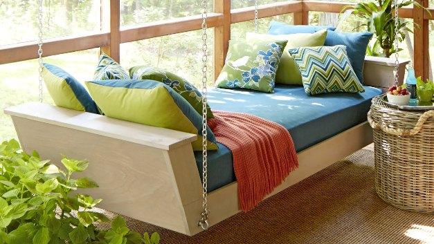 model sofa gantung