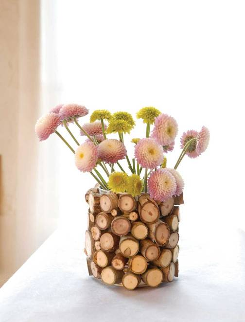 Mudah Cara Membuat Kerajinan Kayu Vas Bunga Cantik Lem Kayu Crossbond