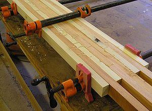 pengeleman kayu laminasi